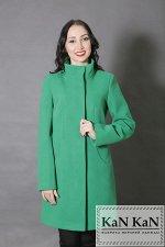 Пальто 1505-957  (светло-зеленый)