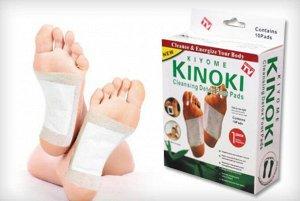 Детоксикационные пластыри для стоп Kinoki Detox (10 шт)