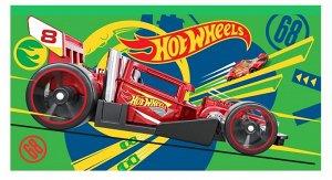 """Пенал плоский Хот Вилс """"Hot Wheels"""" 19*10 см, на молнии"""