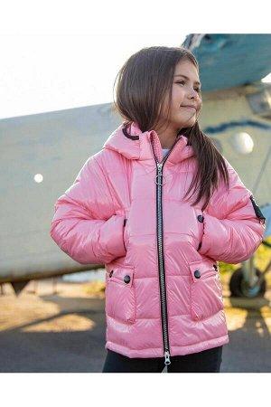 Куртка розовый