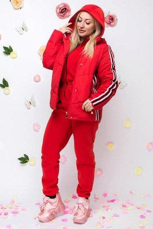 Куртка красный