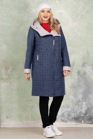 Пальто Пальто женское из плащевой стеганой ткани с водоотталкивающей пропиткой.  Рост: 168 Силуэт: полуприлегающий Размерная сетка: соответствует размеру Утеплитель: 100 г./кв. м. синтепона Застежка: