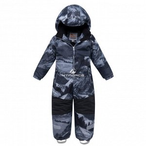 Комбинезон для мальчика зимний серого цвета 8907Sr