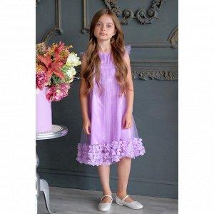 Платье KAFTAN, фиолетовый, рост 86-92, р.28