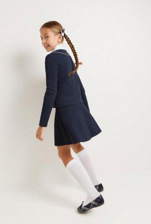 Юбка детская для девочек Rustem_D темно-синий