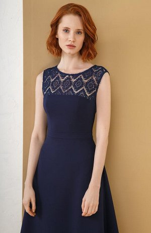 Платье Темно-синий