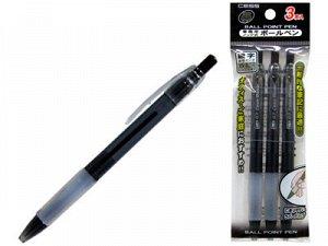 15418kh Ручки шариковые автоматические, 3 штуки