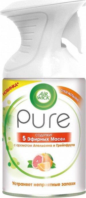 ЭИРВИК Освежитель Pure 5 эфир. масел Апельсин и Грейпфрут /250