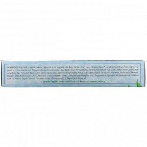 Auromere, Аюрведическая травяная зубная паста, Foam-Free Mint, 4.16 унц. (117 г.)