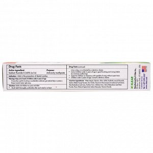 Xlear, Зубная паста Spry, против кариеса, со фтором и мятой, 5 унций (141 г)