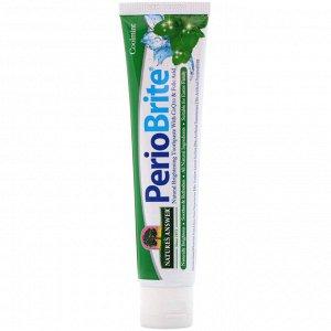 Nature&#x27 - s Answer, Periobrite, зубная паста для природного отбеливания, свежая мята, 113,4 г