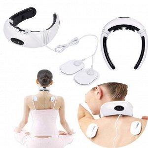 Массажер Массажер Предназначен для идеальной посадки на физиологическую изгибу шеи. Интегрируя низкочастотный электрический импульс, магнитное поле, 6 видов методов массажа реального человека, массаже