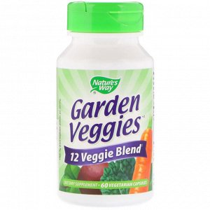Nature&#x27 - s Way, Садовые плоды, 60 вегетарианских капсул