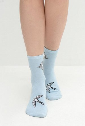 Носки жен. Vogel голубой