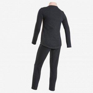 Спортивный костюм утепленный 100 GYM для девочек DOMYOS