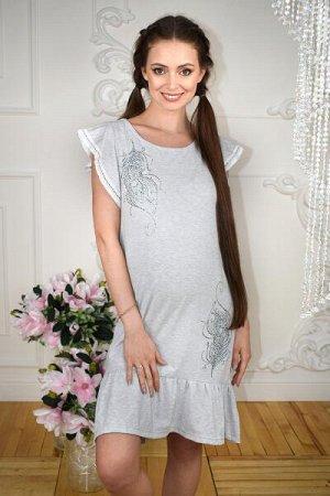 """Платье для беременных """"Перья"""""""