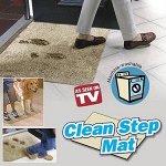 Супервпитывающий придверный коврик New Clean Step Mat (Клин Степ Мат) Бежевый