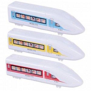 Фломастеры 18 цветов в пластиковом тубусе Поезд вентилируемый колпачок