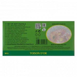Пастель сухая художественная Koh-I-Noor TOISON D`OR, 8512/12, 12 цветов