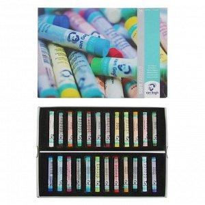 Пастель сухая Soft Royal Talens Van Gogh 24 цвета, картонная упаковка
