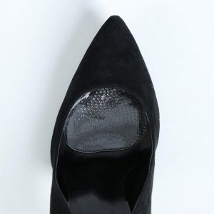 Полустельки для обуви, с протектором, силиконовые, пара, цвет прозрачный