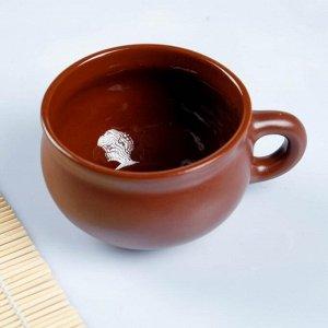 Чашка с блюдцем шелк 0,25л