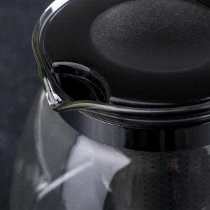 Чайник заварочный «Джулиан», 700 мл, 16,5?12?10,5 см, цвет МИКС