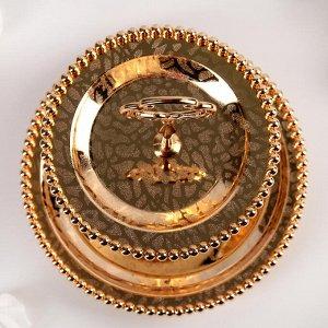 Подставка для десерта «Злата», 21?21см, 2 яруса