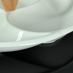 Менажница «Эстет», 28?12 см, 3 секции