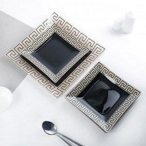 Сервиз столовый «Этруска» на 6 персон: 6 тарелок d=20 см, 1 тарелка d=30 см