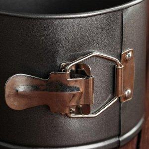 Форма для выпечки разъемная Доляна «Элин. Кулич», 14х10 см, антипригарное покрытие