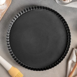 Форма для выпечки «Жаклин», с антипригарным покрытием, со съёмным дном, 28x28 см