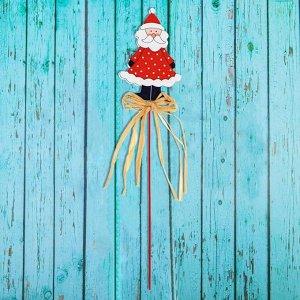 Декор на палочке «Дед Мороз»