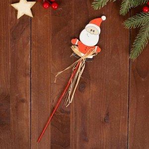 Декор на палочке «Санта»