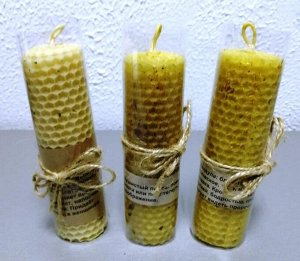 Золототысячник (1) / Свеча с травами