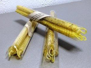 Золототысячник (3) / Набор 3 свечи с травами