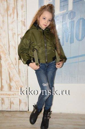 1801 Куртка для девочки