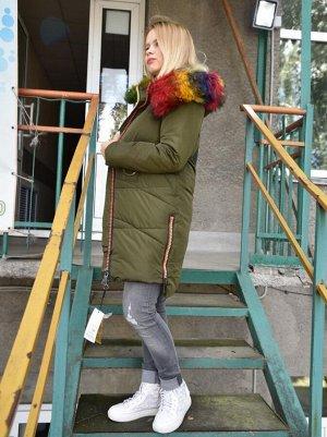 L7715 Парка зимняя для девушки