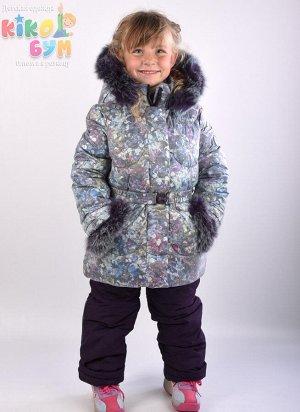 5320B Костюм для девочки зимний