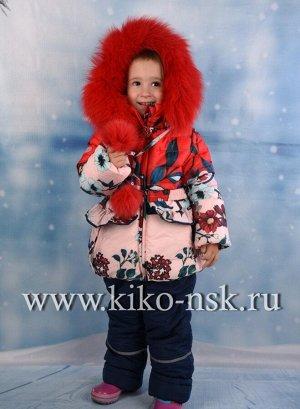 ZZ4527М Костюм для девочки зимний