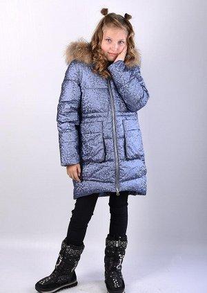 19196 Пальто для девочки Anernuo