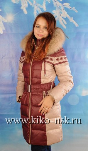 SS3739Б Пальто для девушки на тинсулейте