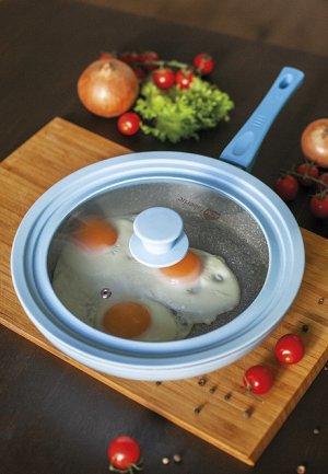 Крышка для сковороды 3 в 1, диаметр 15–20 см