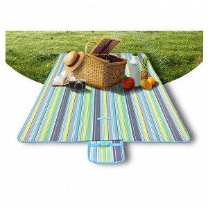 Пляжный коврик-сумка водонепроницаемый складной