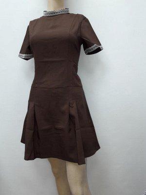 Платье Цвет коричневый