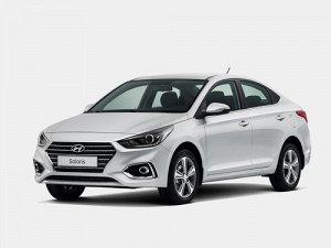 Коврик в багажник Hyundai Solaris 2WD (седан) АКПП + МКПП (2017->) левый руль