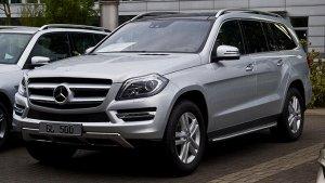 Ковры салонные Mercedes-Benz GLC-Class (X166)  (11.2015 - 04.2019) левый руль