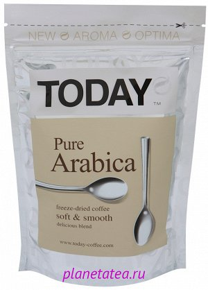 TODAY Pure Arabica фриз 150 гр. Пакет 1/12