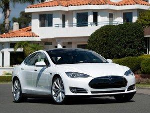 Ковры салонные Tesla Model S (2012 - 2016) правый руль