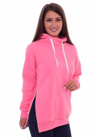 Толстовка женская 6-147 (светло-розовый)